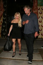 Jessica Simpson Night Out in Los Angeles, March 2016