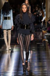 Joan Smalls – Balmain Show – Paris Fashion Week, March 2016