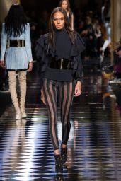 Joan Smalls – Balmain Show – Paris Fashion Week, March 2016
