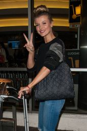 Joanna Krupa at LAX Airport in Los Angeles, March 2016