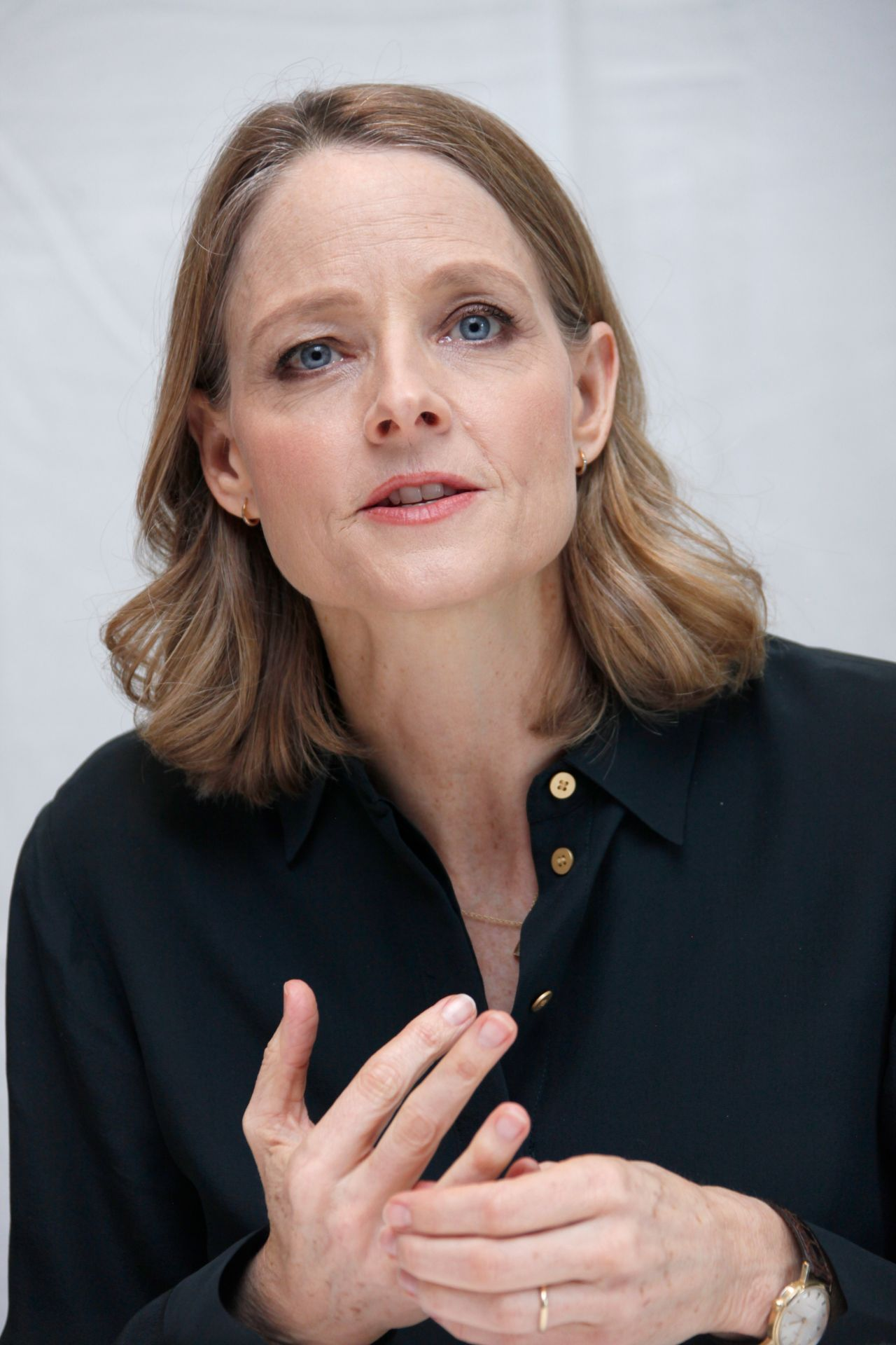 Jodie Foster Press Conference Portraits At Four Seasons