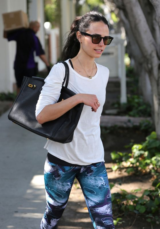 Jordana Brewster - Out in West Hollywood 2/29/2016