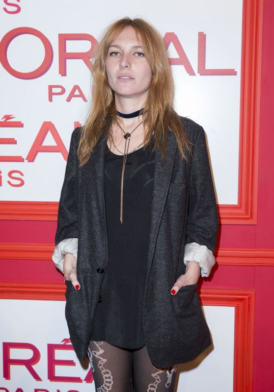 Joséphine de La Baume – L'Oreal Red Obsession Party – Paris Fashion Week 3/8/2016