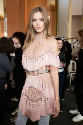 Josephine Skriver – Balmain Show – Paris Fashion Week, March 2016