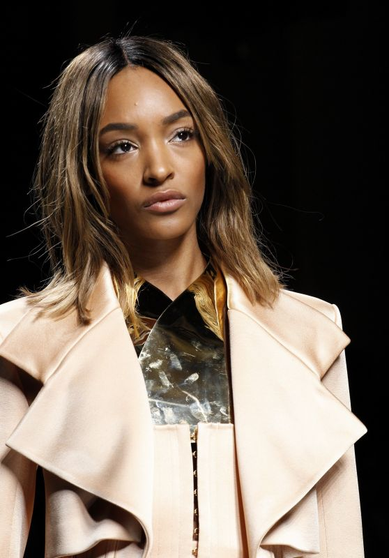 Jourdan Dunn – Balmain Show – Paris Fashion Week, March 2016