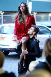 Jourdan Dunn - Maybelline Photoshoot Set in New York City, 3/30/2016