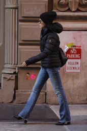 Julianna Margulies Heads to the Spa in Soho in NYC 3/7/2016