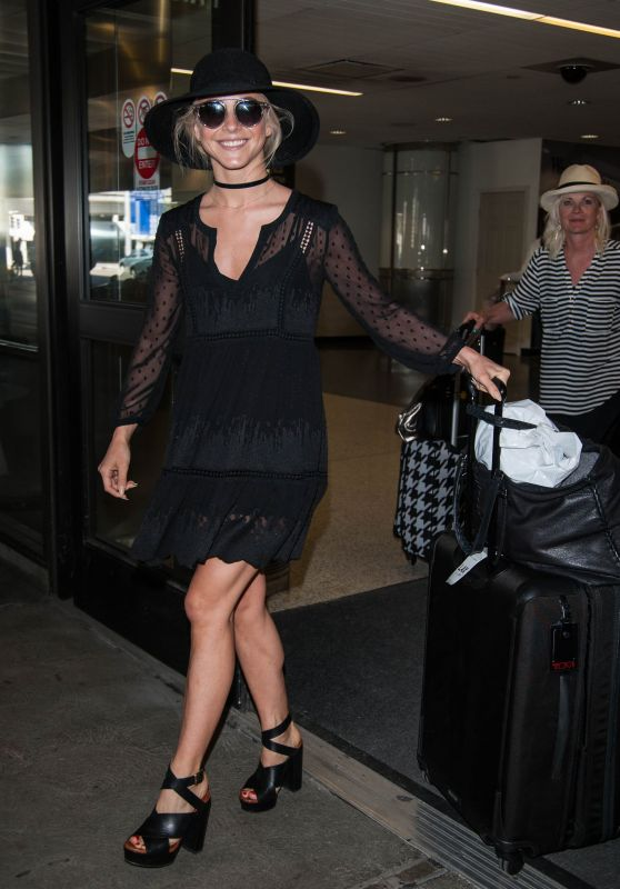 Julianne Hough at LAX Airport, March 2016
