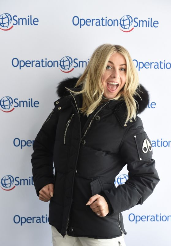 Julianne Hough - Celebrity Ski & Smile Challenge in Park City, Utah 3/12/2016