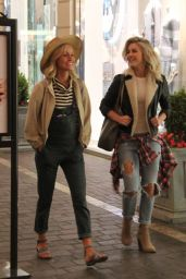 Julianne Hough in Ripped Jeans - at The Grove in West Hollywood, 3/30/2016