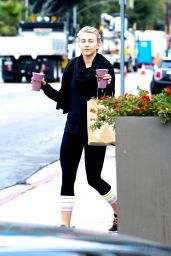 Julianne Hough - Leaving a Gym in West Hollywood 3/28/2016