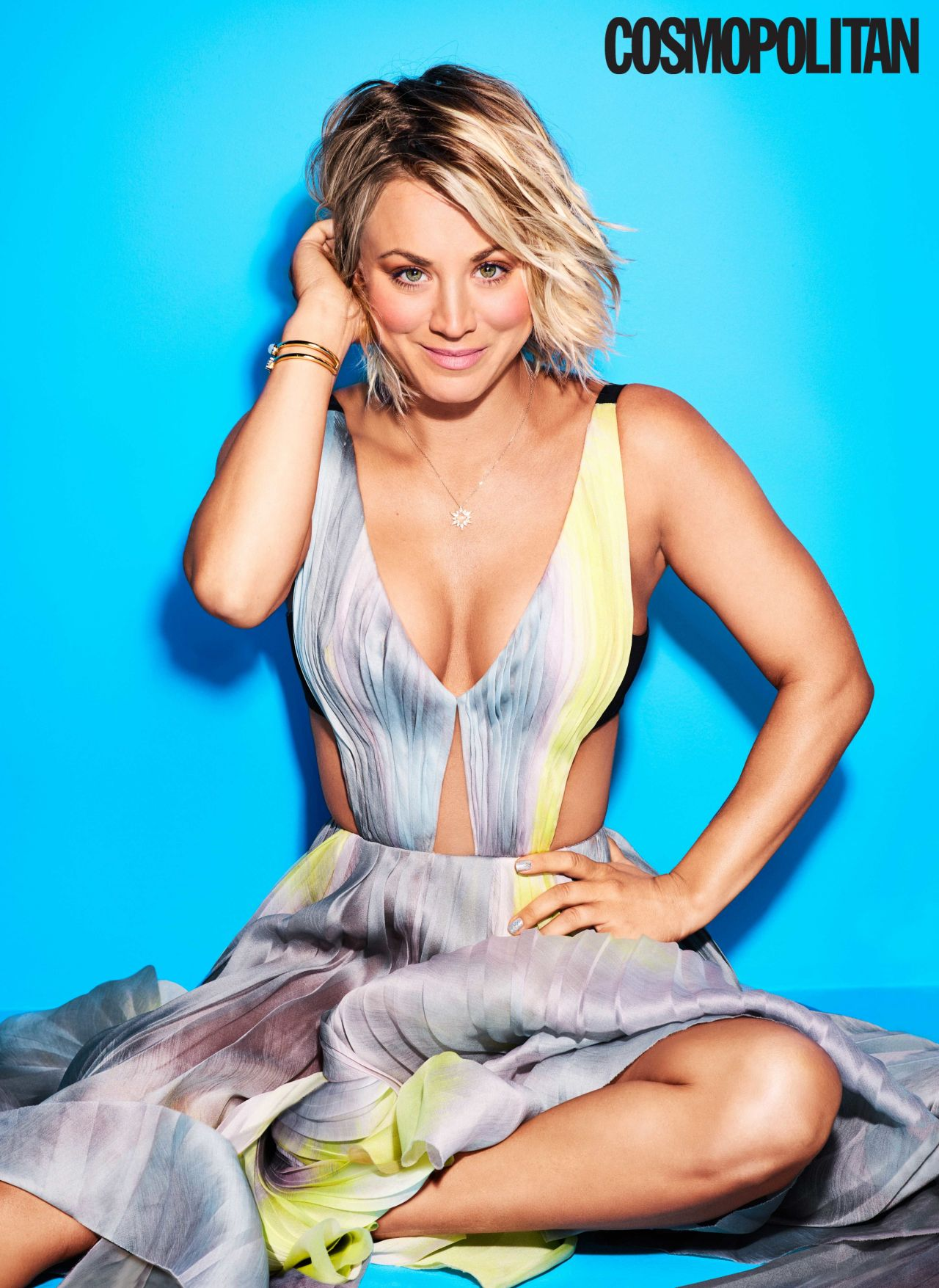 Kaley Cuoco Cosmopolitan Magazine Cover April 2016