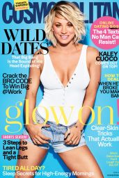 Kaley Cuoco - Cosmopolitan Magazine Cover April 2016