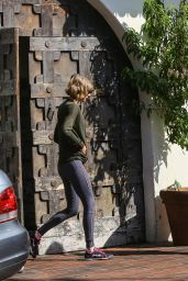 Karlie Kloss and Taylor Swift at the Gym in Beverly Hills 3/12/2016