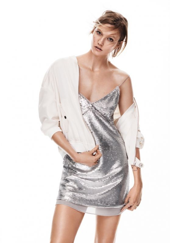 Karlie Kloss - Mango New Metallics Spring 2016