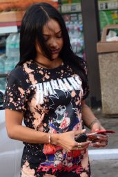 Karrueche Tran - Grabs Some Items at a Local 7Eleven Near Her House in West Hollywood 3/5/2016