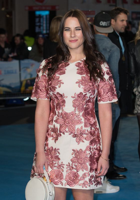 Kat Shoob – 'Eddie The Eagle' Premiere in London, UK