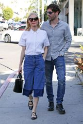 Kate Bosworth and Husband Out in West Hollywood 3/15/2016
