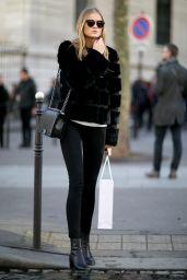 Kate Grigorieva – Streetstyle Photoshoot in Paris, March 2016