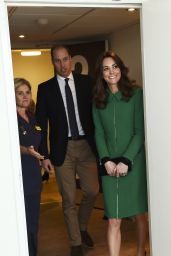 Kate Middleton Visits St Thomas