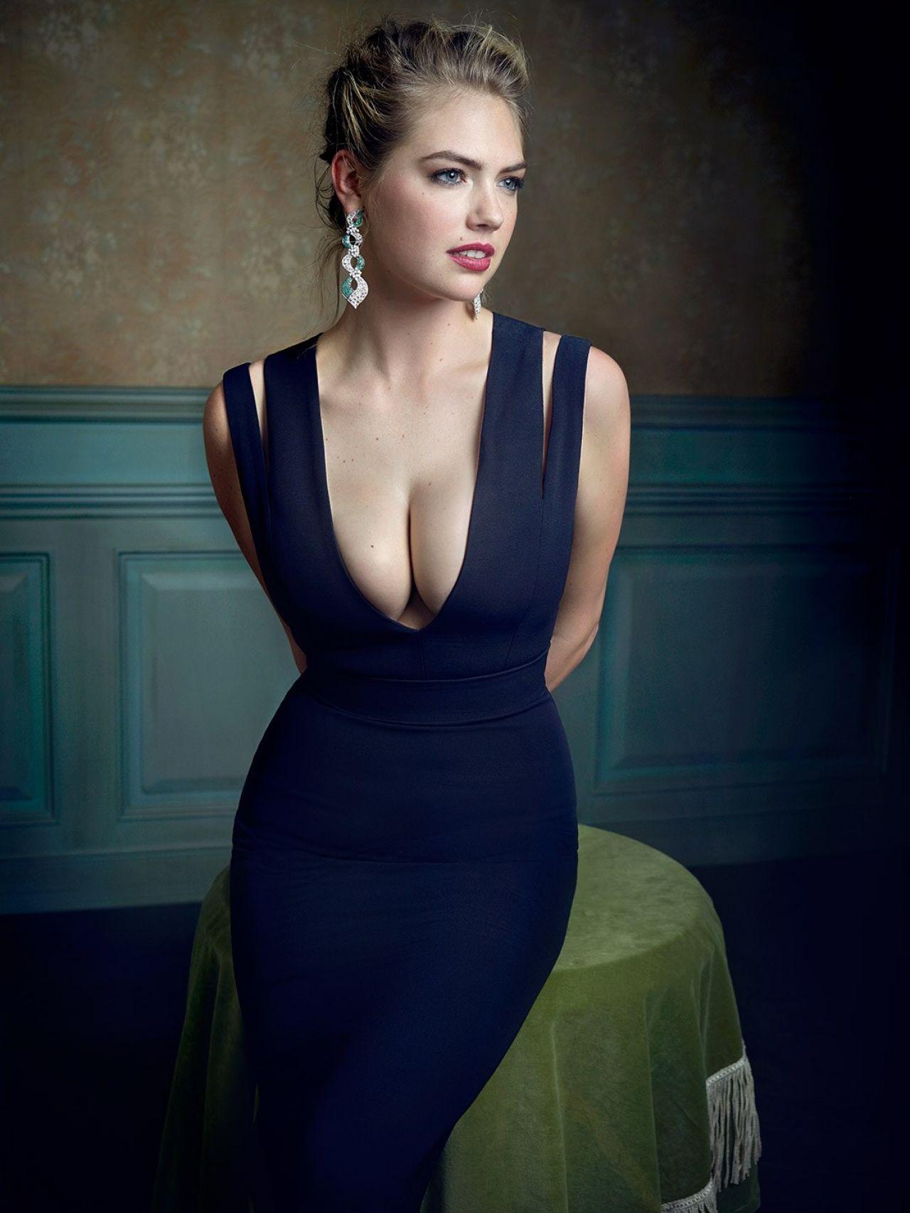 Kate Upton 2016 Vanity Fair Oscar Party Portrait