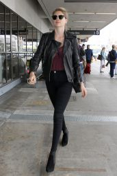 Kate Upton at LAX Airport 2/29/2016