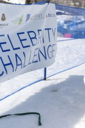 Kate Upton - Celebrity Ski & Smile Challenge in Park City, Utah 3/12/2016