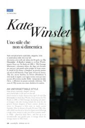 Kate Winslet - Luxury Files Magazine Spring 2016