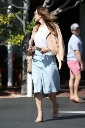 Katharine McPhee at Fred Segal in West Hollywood 3/15/2016
