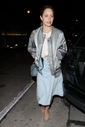 Katharine McPhee Night Out Style - at Craig