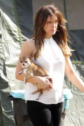Katharine McPhee - On the Set of