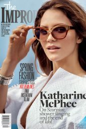 Katharine McPhee - The Improper Bostonian Magazine March 2016