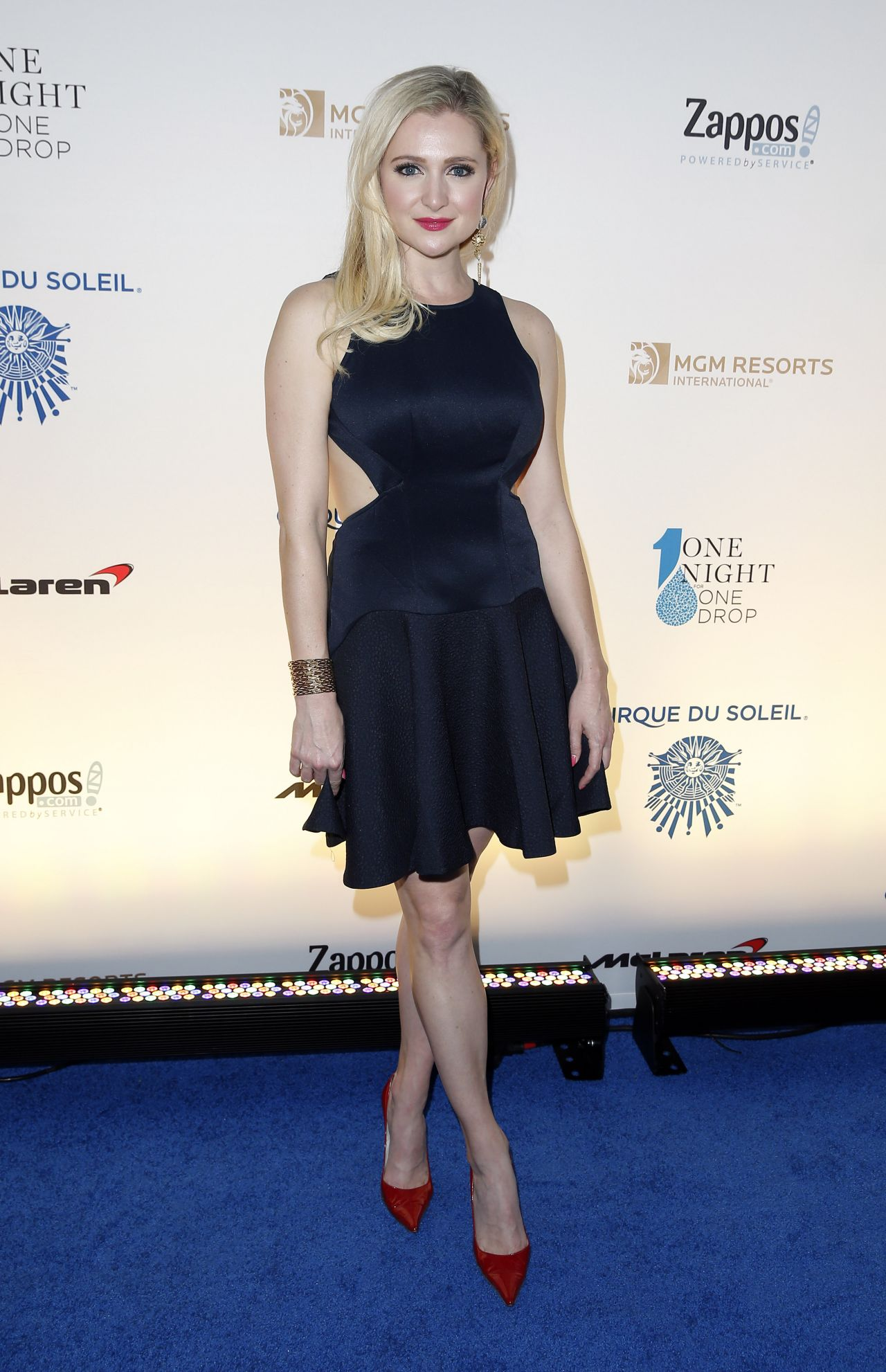 Katherine Bailess One Night For One Drop Blue Carpet In
