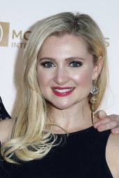 Katherine Bailess – One Night for ONE DROP Blue Carpet in Las Vegas 3/18/2016
