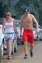 Katy Perry and Orlando Bloom - Hiking in Hawaii, February 2016