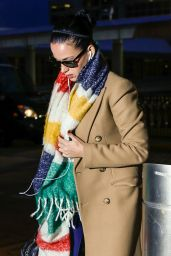 Katy Perry Catch a Flight Out of New York City, March 2016