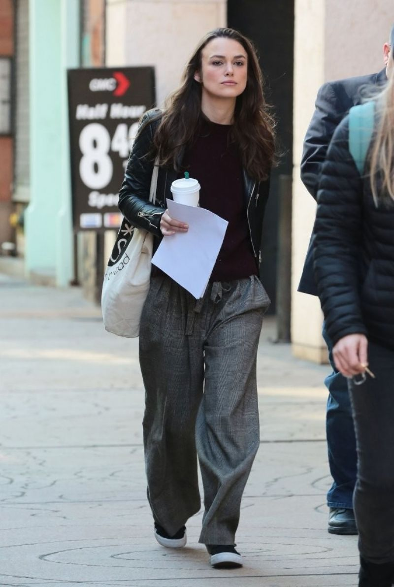 Keira Knightley Collateral Beauty Set In Nyc 3 1 2016