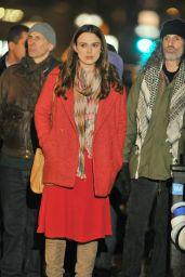 Keira Knightley - Filming