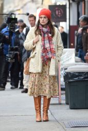 Keira Knightley - On Set of