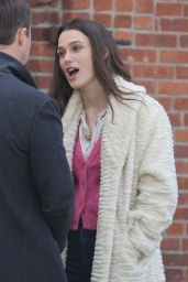 Keira Knightley - On the Set of