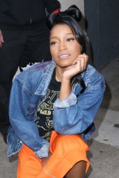 Keke Palmer at AOL Studios in New York City, March 2016