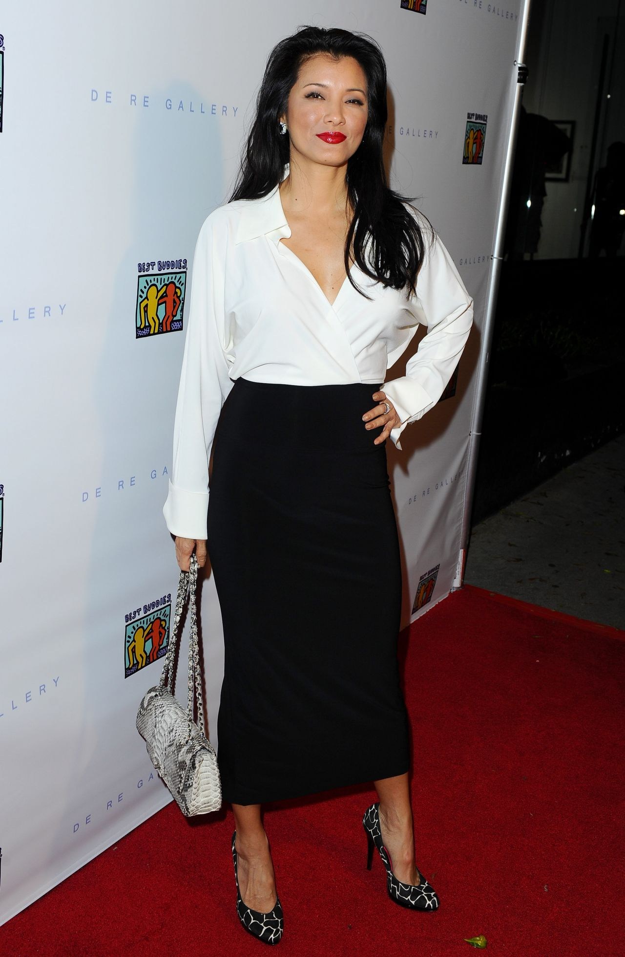 Kelly Hu The Art Of Friendship Benefit Photo Auction