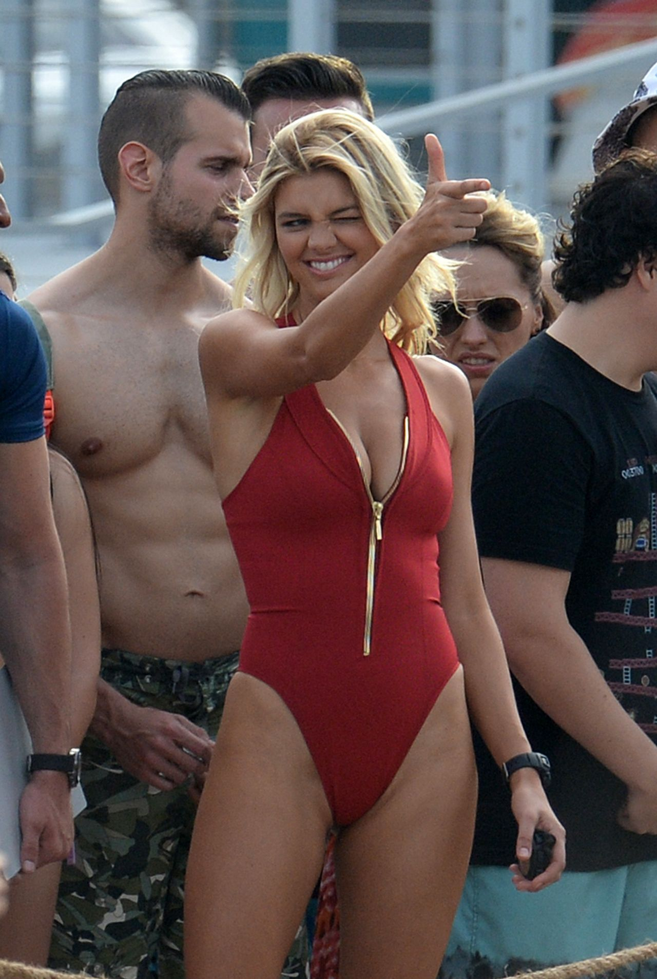 Kelly Rohrbach Swimsuit Set Baywatch