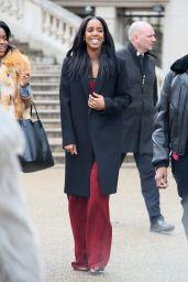 Kelly Rowland at Chloe Show – Paris Fashion Week Womenswear Fall/Winter 2016/2017