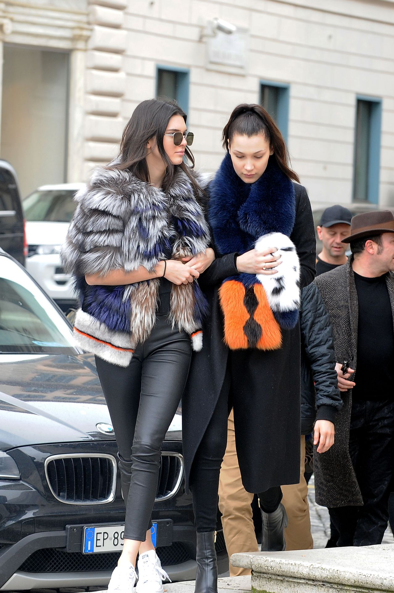 Lottie Moss And Kate Moss Kendall Jenner and Bel...