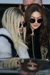 Kendall Jenner and Gigi Hadid - Out in Paris, France 3/3/2016