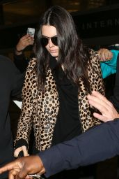 Kendall Jenner at LAX Airport in Los Angeles, 3/11/2016