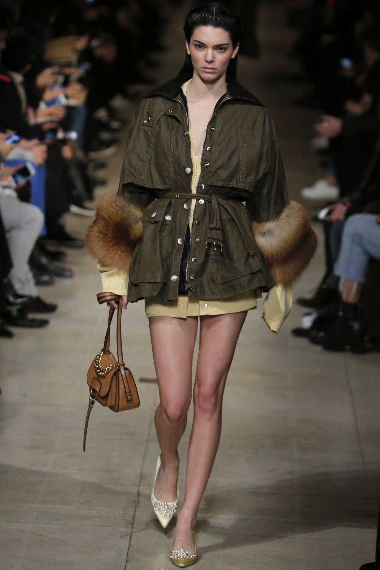 Kendall jenner walks miu miu show paris fashion week - 2019 year