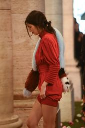 Kendall Jenner Night Out Style - Leaving the Opening of Palazzo Fendi in Rome 3/10/2016