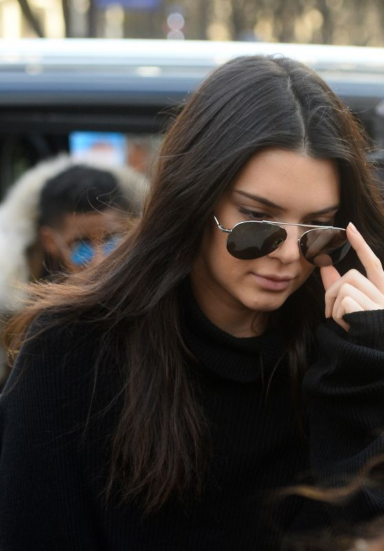 Kendall Jenner - Out and About in Paris, France 3/6/2016